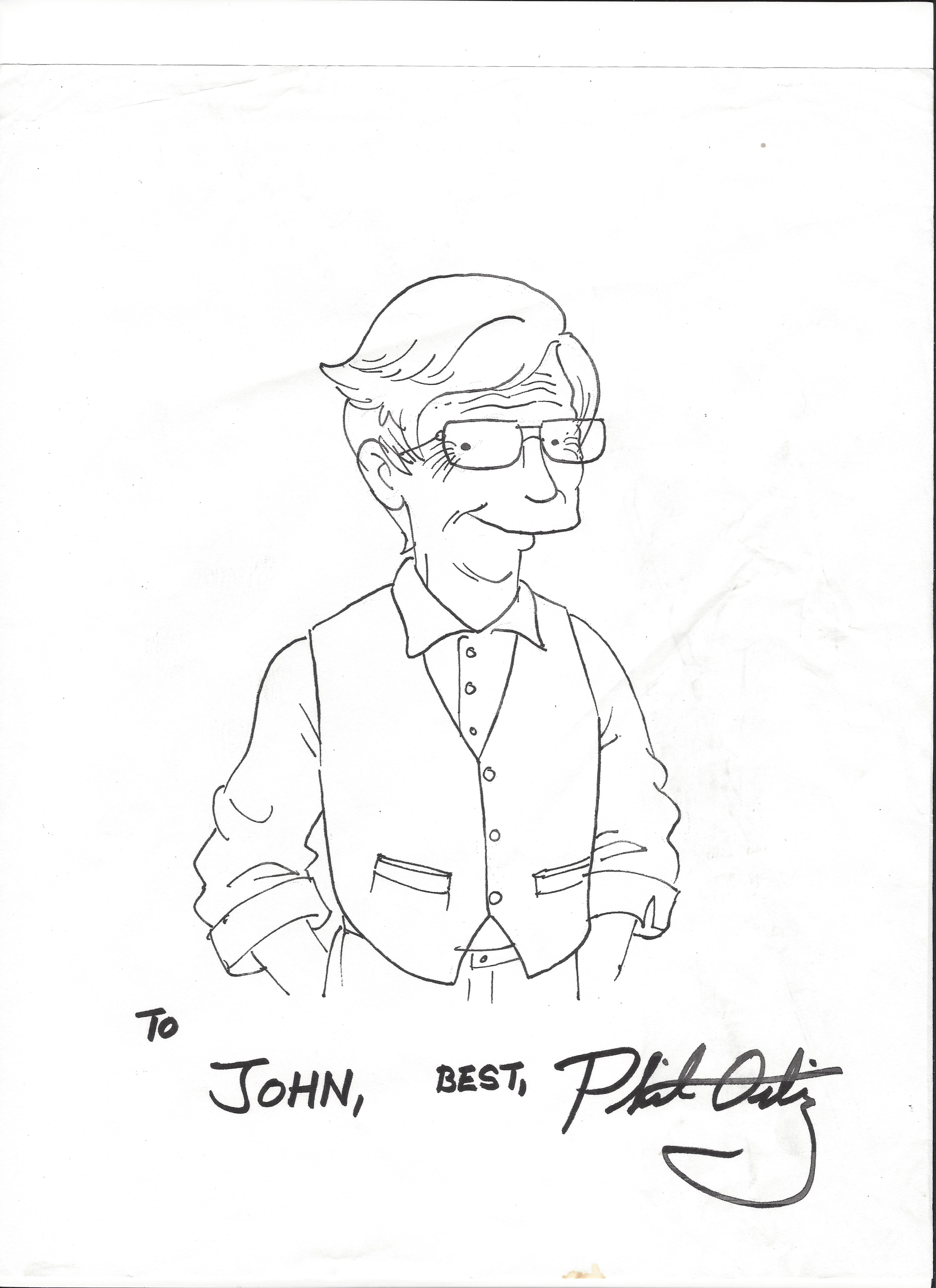 john as a simpsons character