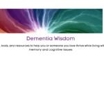Dementia Wisdom Header by Victoria