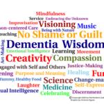dementia wisdom word cloud Aug 18 2021