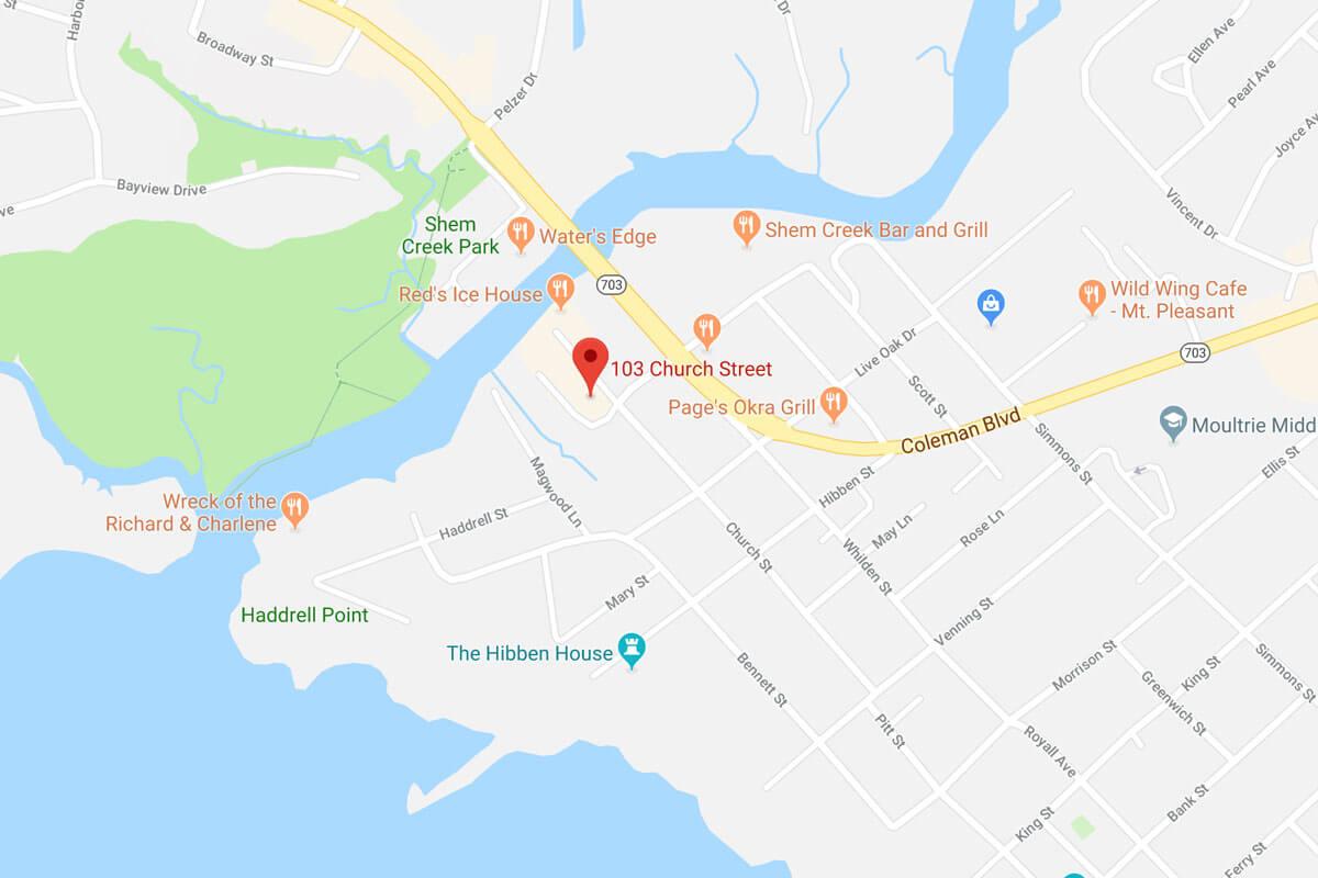 Brown & Varnado Location Map