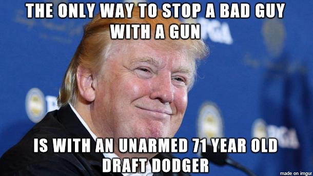 The 15 Funniest Memes Mocking Cowardly Trump