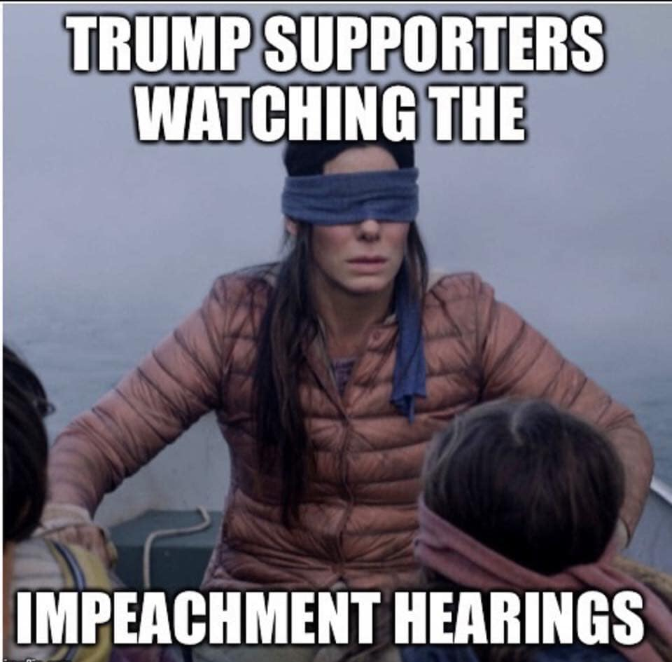 40 Brutally Hilarious Trump Impeachment Trial Memes