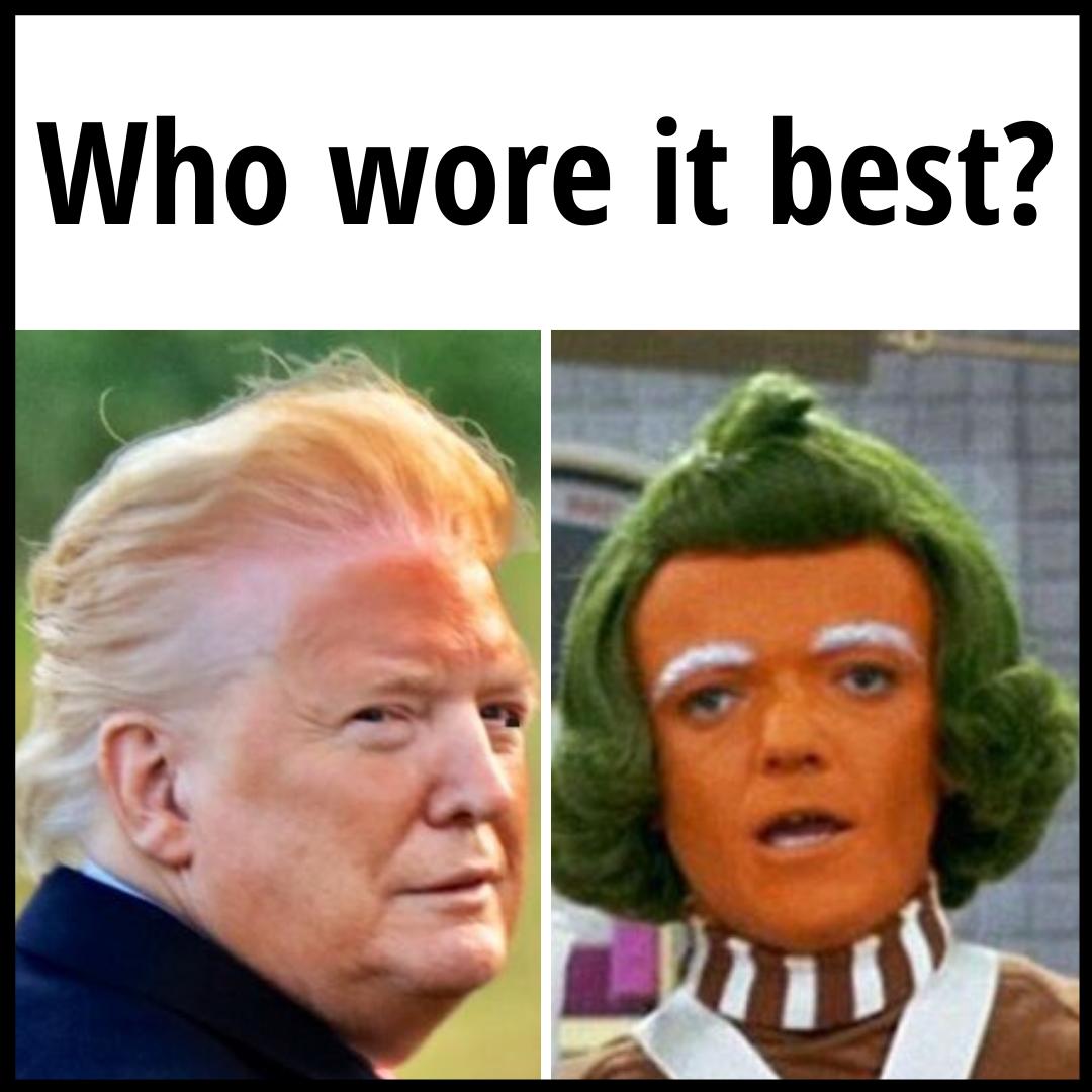 The 25 Funniest Trump Orange Face Memes