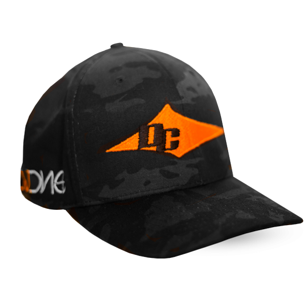 DC Hat - Charcoal Camo & Orange