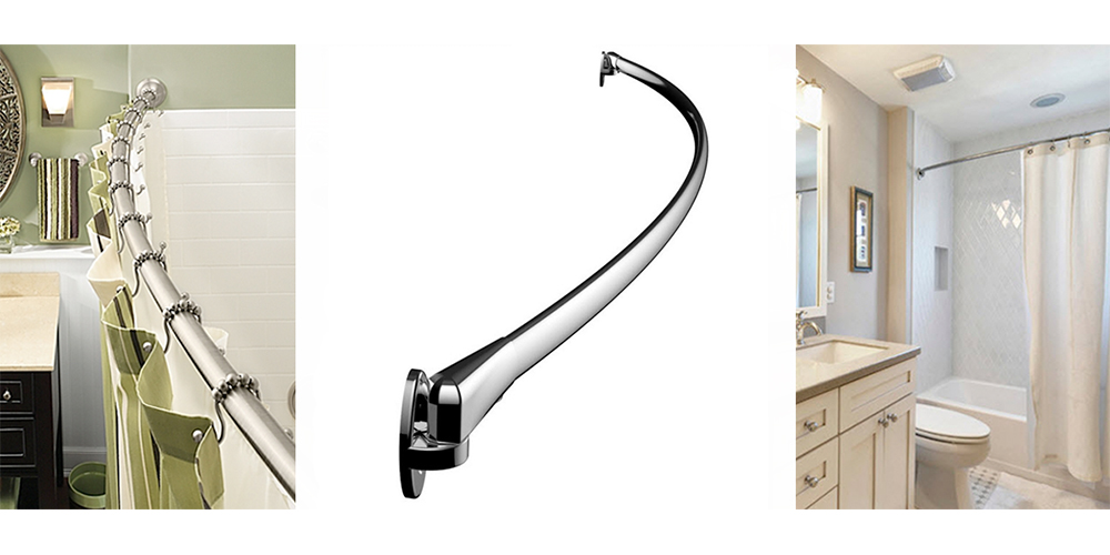 A Curved Shower Rod Is Like Magic