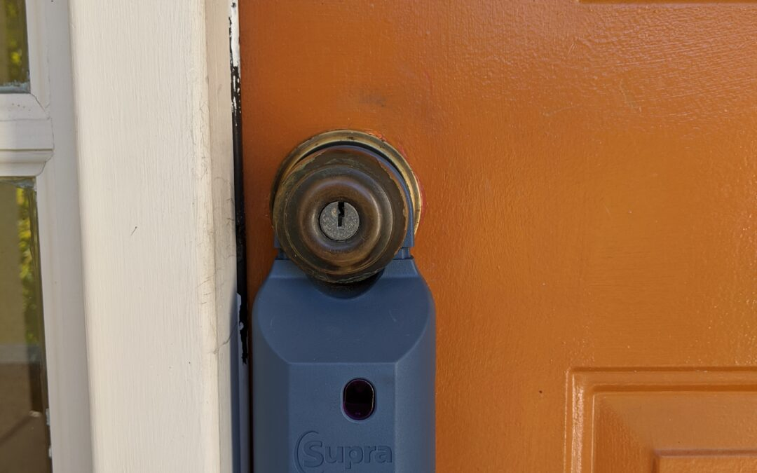 Old and Ugly Front Door Locks