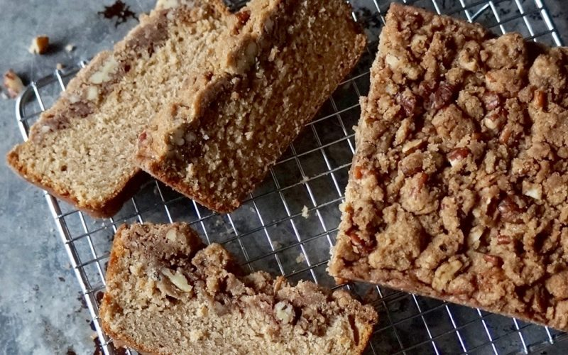Baking & Pastry Tutorials: Cinnamon Crunch Coffee Cake By Rebecca Gordon Editor-In-Chief Buttermilk Lipstick Culinary & Entertaining Brand Baking & Cooking Tutorials Practical Culinary Techniques For Everyday Cooks Pastry Chef Editorial Director Digital Culinary Photo Journalist Writer Game Day Entertaining Modern Southern Socials