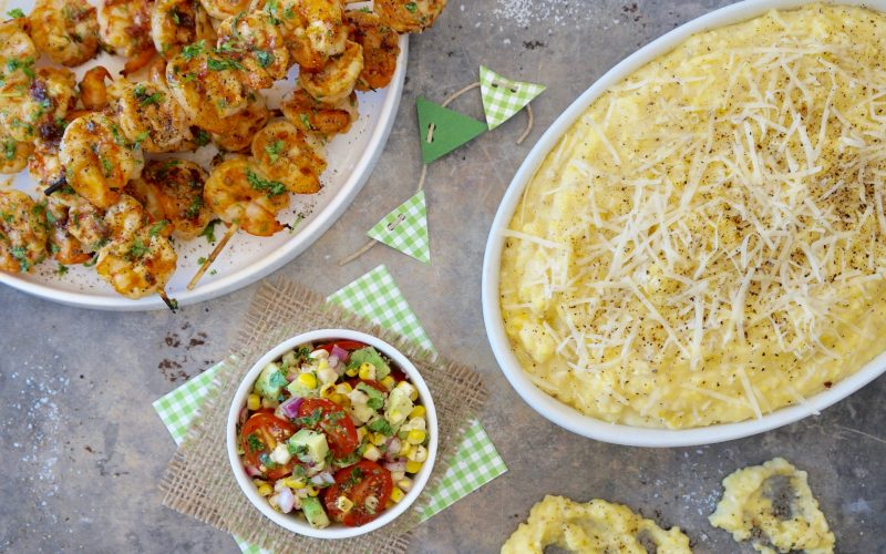 Grilled Chipotle Garlic Shrimp Kabobs By Rebecca Gordon Editor-In-Chief Buttermilk Lipstick Game Day Entertaining & Tailgating Recipes Charred Corn & Avocado Pico De Galo By Rebecca Gordon Editor-In-Chief Buttermilk Lipstick Tailgating Recipes & Game Day Entertaining Cooking & Baking Tutorials Game Day Entertaining Tailgating Recipes Pastry Chef Writer Food Stylist TV Cooking Personality Modern Southern Socials Football Party Birmingham Alabama Game Day Menus