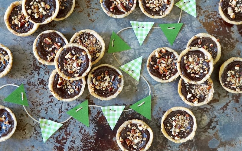 Game Day Entertaining: Chocolate-Pecan Chess Pies By Rebecca Gordon Buttermilk Lipstick TV Cooking Personality Pastry Chef Editor-in-Chief Author Tailgating Expert Sports Entertaining Southern Hostess Tide & Tigers Today Tailgate Host Birmingham Alabama Cooking Lessons Tailgate Party Ideas