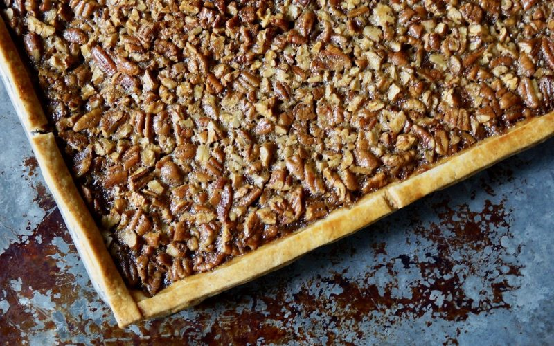 Game Day Entertaining: Gridiron Whiskey-Pecan Slab Pie By Rebecca Gordon Buttermilk Lipstick TV Cooking Personality Editor-in-Chief Birmingham Alabama Southern Hostess Sports Entertaining Tailgating Expert Tide & Tigers Today Tailgate Host WBRC Fox 6