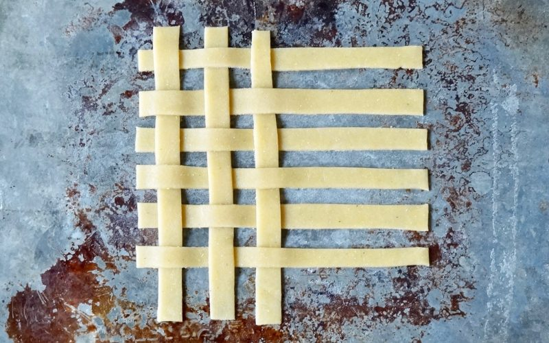 How To Make A Lattice Crust By Rebecca Gordon Buttermilk Lipstick Editor-in-Chief TV Cooking Personality Food Stylist Writer Southern Hostess Tailgating Expert Pastry Chef Author Sports Entertaining Tide & Tigers Today Tailgate Host Birmingham Alabama WBRC Fox 6 Cooking Lessons How To Make Peach Slab Pie