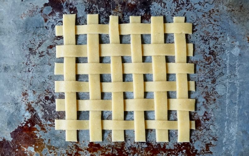 How To Make A Lattice Topped Pie By Rebecca Gordon Editor-in-Chief Buttermilk Lipstick TV Cooking Personality Pastry Chef Food Stylist Birmingham Alabama Southern Hostess Sports Entertaining Tailgating Expert Tide & Tigers Today Tailgate Host Writer Author WBRC Fox 6 Birmingham Alabama Cooking Lessons How To Make A Peach Slab Pie