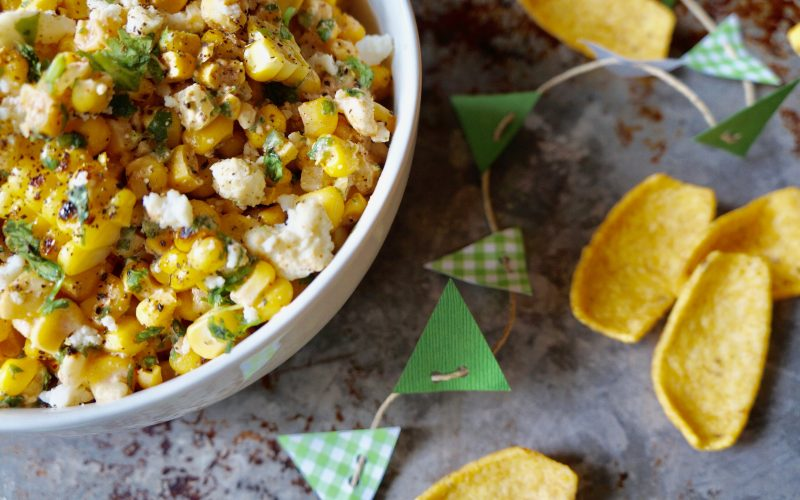 Mexican Street Corn Dip By Rebecca Gordon Buttermilk Lipstick TV Cooking Personality Editor-in-Chief Tailgating Expert Sports Entertaining Tide & Tigers Today Tailgate Host WBRC Fox 6 Birmingham Alabama