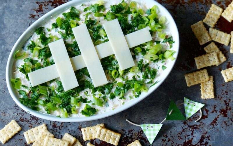 Game Day Entertaining: Million Dollar Football Dip By Rebecca Gordon Buttermilk Lipstick TV Cooking Personality Birmingham Alabama Sports Entertaining Tailgating Expert Tide & Tigers Today Tailgate Host Cooking Lesson WBRC Fox 6 Tailgate Party Crafts Food & Ideas