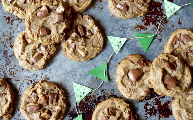 Game Day Entertaining: Peanut Butter-Toffee Cookies By Rebecca Gordon Buttermilk Lipstick TV cooking Personality Editor-in-Chief Southern Tailgating & Cooking Lifestyle Entertaining Brand Sports Entertaining Southern Tailgating Expert Tide & Tigers Today Tailgate Host Birmingham Alabama WBRC Fox 6