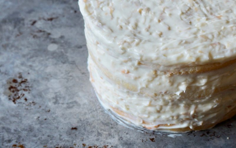 Baking Classics. Toasted Coconut Cake By Rebecca Gordon Editor-In-Chief Buttermilk Lipstick Culinary & Entertaining Brand Cooking & Baking Tutorials Editorial Director Digital Culinary Photo Journalist Pastry Chef Writer Food Stylist Game Day Entertaining Modern Southern Parties Southern Recipes How To Toast Coconut. Toasted Coconut Cake With Toasted Coconut-Cream Cheese Frosting