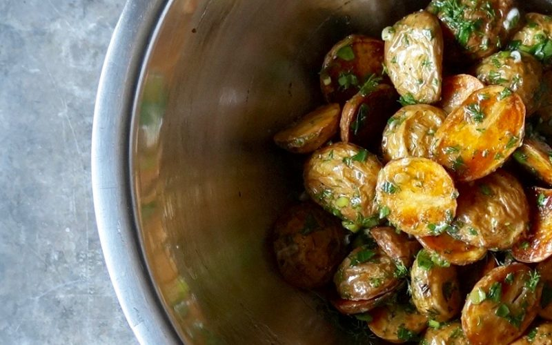 Cooking Classics. Spinach-Bacon Roasted Potato Salad By Rebecca Gordon Editor-In-Chief Buttermilk Lipstick Culinary & Entertaining Brand Cooking & Baking Techniques For Everyday Cooks Pastry Chef Writer Food Stylist Digital Culinary Photo Journalist Editorial Director TV Cooking Personality Game Day Entertaining Modern Southern Parties