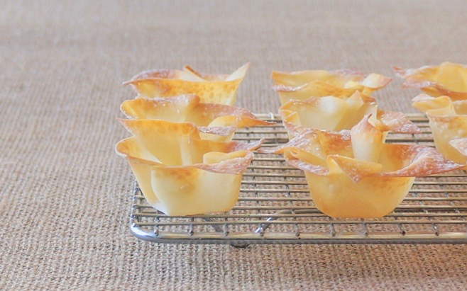 Spring Entertaining-How To Make Wonton Cups By Rebecca Gordon Editor-In-Chief Buttermilk Lipstick Culinary & Entertaining Techniques- Chicken Salad Pastry Chef Writer Food Stylist TV Cooking Personality Digital Culinary Photo Journalist Editorial Director Game Day Entertaining Modern Southern Socials Parties Techniques Cooking & Baking Tutorials