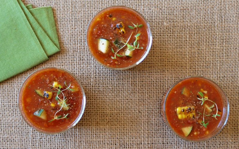 How To Make Cooking Classics. Fresh Herb Gazpacho By Rebecca Gordon Editor-In-Chief Buttermilk Lipstick Cooking & Baking Tutorials Pastry Chef Writer Food Stylist Game Day Tailgating Modern Southern Socials Southern Entertaining Southern Hostess Birmingham Alabama Editorial Director Digital Culinary Photo Journalist