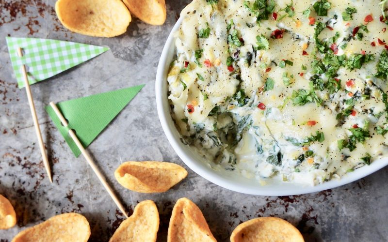 Game Day Tailgating: Classic Hot Spinach-Artichoke Dip By Rebecca Gordon Buttermilk Lipstick TV Cooking Personality Editor-In-Chief Southern Tailgating Cooking & entertaining Brand Southern Tailgating Expert Pastry Chef Author Writer Birmingham Alabama