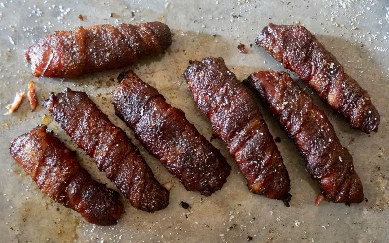 How To Make Bacon Wrapped Ribs Game Day Entertaining. Smoky Bacon Ribs By Rebecca Gordon Editor-In-Chief Buttermilk Lipstick Tailgating Recipes Football Party Menu Gameday Entertaining Football Snacks Dips Appetizers Southern Hostess Southern Tailgating Recipes BBQ