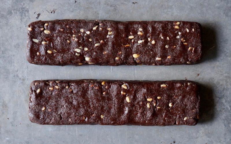 Cookie-Recipes-Chocolate-Biscotti-Rebecca-Gordon-Buttermilk-Lipstick-Holiday-Cookie-Exchange-Recipes-How-To-Make-Biscotti-Chocolate-Pine-Nut-Biscotti-Chocolate-Pignoli-Biscotti-Recipe-Baking-Classic-Cookies-Holiday-Cookies-Cookie-Swap-Gifts-Southern-Entertaining-Southern-Hostess-RebeccaGordon-ButtermilkLipstick