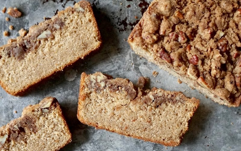 Baking Tutorials: How To Make Cinnamon Crunch Coffee Cake By Rebecca Gordon Editor-In-Chief Buttermilk Lipstick Culinary & Entertaining Brand Practical Culinary Techniques for Everyday Cooks Editorial Director Digital Culinary Photo Journalist Pastry Chef TV Cooking Personality Modern Southern Socials Game Day entertaining