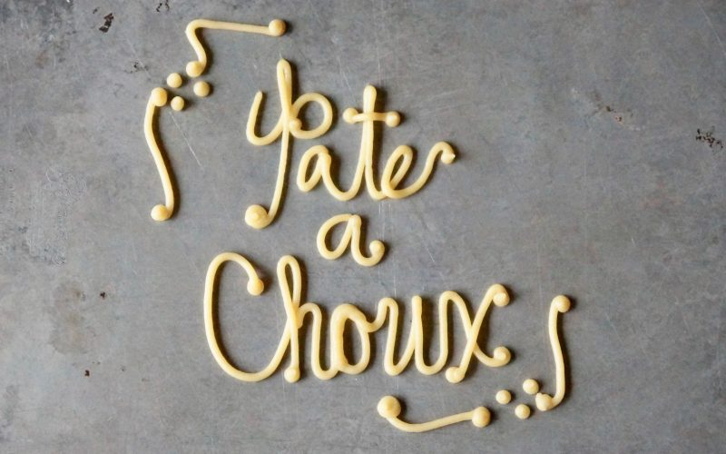 How To Make Pate A Choux By Rebecca Gordons Buttermilk Lipstick Digital Culinary Instructional Magazine Cooking Baking Tutorials Game Day Entertaining Modern Southern Socials RebeccaGordon Pastry Chef TV Cooking Personality Birmingham Alabama How To Make Classic Dessert Pastries Pate A Choux Buttermilk Lipstick Publisher