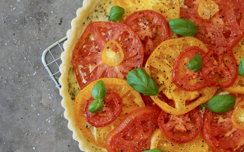 Classic Tomato-Basil Tart By Rebecca Gordon Buttermilk Lipstick Publisher Editor In Chief Culinary Entertaining Techniques. Summer Entertaining Cooking Baking Tutorials Game Day Entertaining Modern Southern Socials Instructional Culinary Magazine RebeccaGordon Southern Hostess Southern Entertaining Pastry Chef TV Cooking Personality Birmingham Alabama