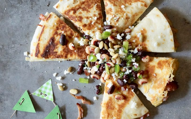 House Barbecue Quesadillas With Championship Caviar By Rebecca Gordon Editor In Chief Buttermilk Lipstick Culinary Entertaining Techniques Game Day Recipes Cooking Baking Tutorials Modern Southern Socials RebeccaGordon TV Cooking Personality Pastry Chef Birmingham Alabama