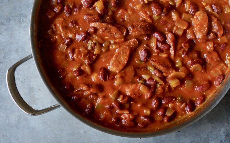 Rebecca-Gordon-Cooking-Class-Red-Beans-And-Rice-With-Sausage-Buttermilk-Lipstick-Cooking-Tutorial-Southern-Entertaining-RebeccaGordon-Publisher-Pastry-Chef-TV-Cooking-Personality-Birmingham-Alabama