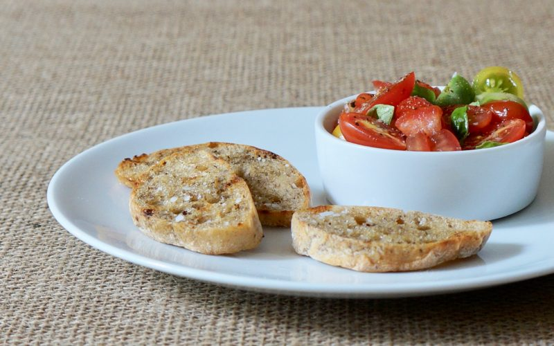 Tomato-Basil-Bruschetta-Rebecca-Gordon-Publisher-Buttermilk-Lipstick-Culinary-Entertaining-Techniques-Southern-Appetizer-Recipes-RebeccaGordon-Hostess-Pastry-Chef-Birmingham-Alabama