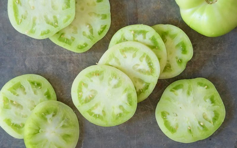 How-To-Make-Buttermilk-Fried-Green-Tomatoes-Alabama-Gardening-Rebecca-Gordon-Editor-In-Chief-Buttermilk-Lipstick-Cooking-From-The-Garden-Recipes-Southern-Hostess-Pastry-Chef-Gardening-Birmingham-Alabama