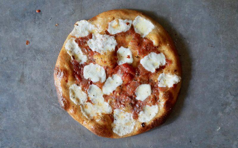 Margherita-Pizza-Whole Wheat-Crust-Rebecca-Gordon-Editor-In-Chief-Buttermilk-Lipstick-Culinary-Techniques-Southern-Entertaining-RebeccaGordon-Pastry-Chef-Garden-Recipes-Birmingham-Alabama