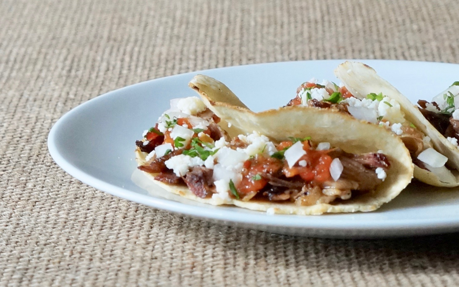 Smoked-Pork-Street-Tacos-With-Salsa-Roja-Rebecca-Gordon-Editor-In-Chief-Buttermilk-Lipstick-Culinary-Techniques-RebeccaGordon-Southern-Hostess-Pastry-Chef-Garden-Recipes-Birmingham-Alabama