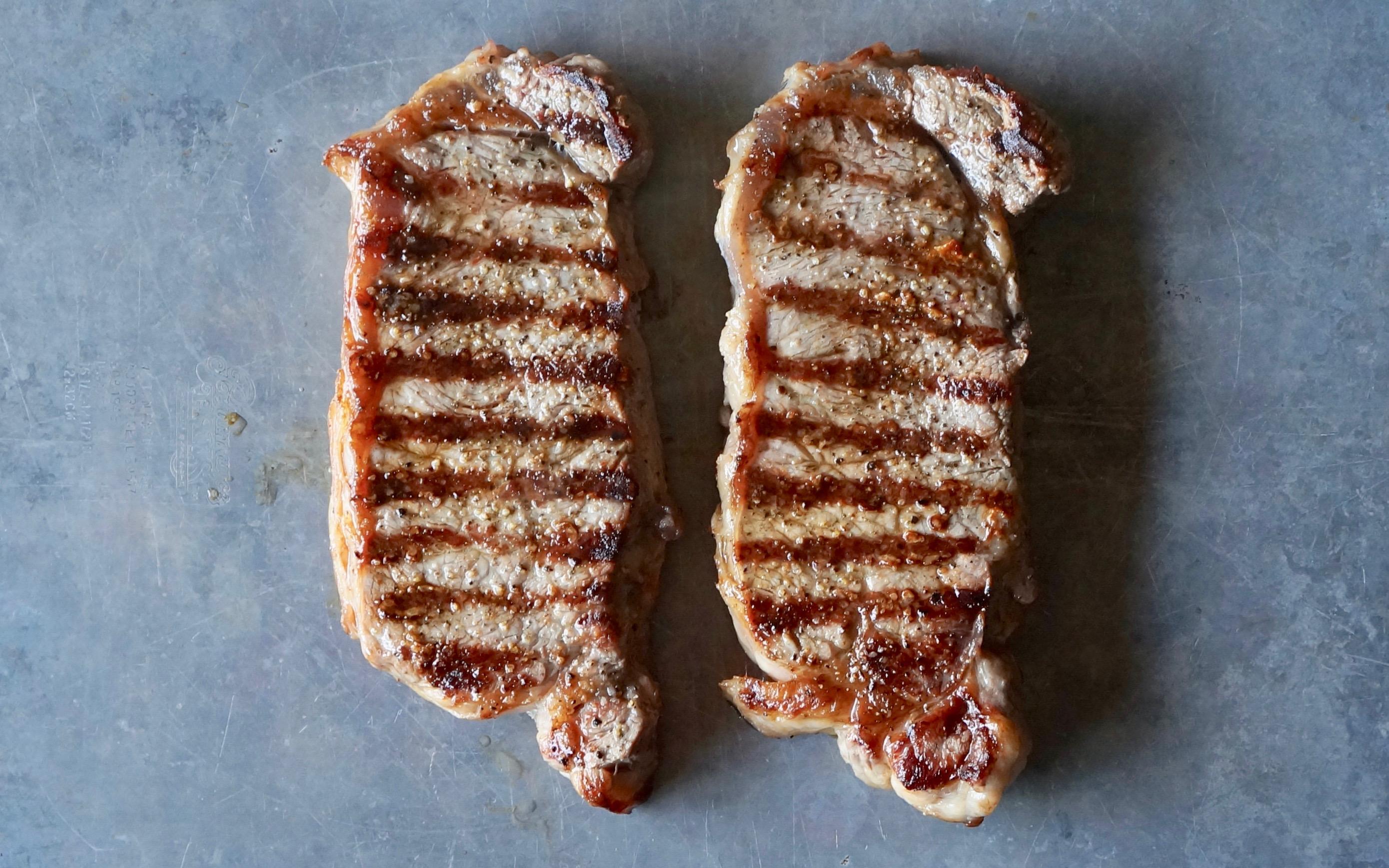 How-To-Make-Pan-Seared-New-York-Strip-Steaks-Rebecca-Gordon-Publisher-Buttermilk-Lipstick-Culinary-Entertaining-Techniques-RebeccaGordon-Southern-Hostess-Pastry-Chef-Birmingham-Alabama