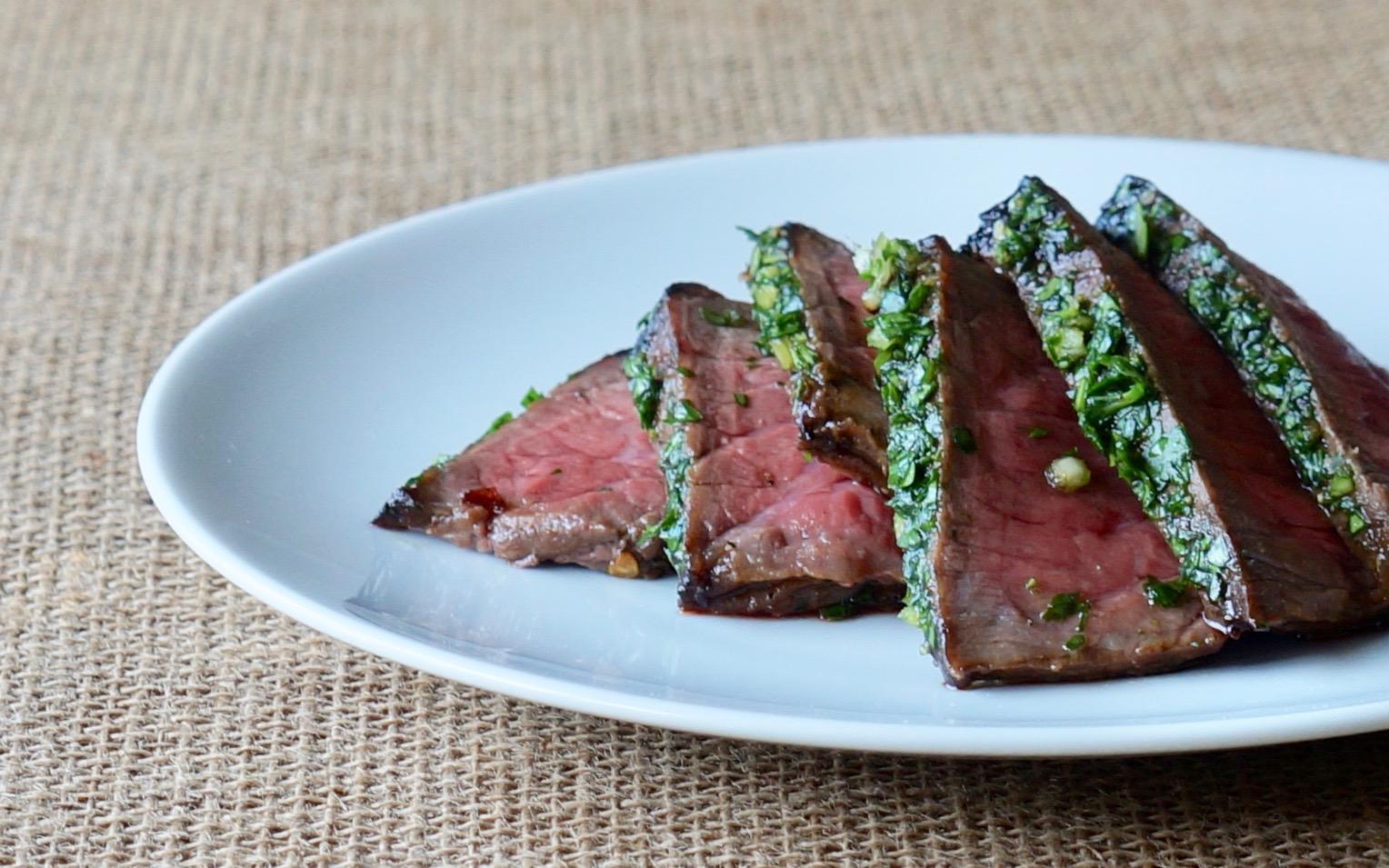 Parsley-Garlic-London-Broil-Top-Round-Steak-Rebecca-Gordon-Editor-In-Chief Buttermilk-Lipstick-Culinary Entertaining Techniques-RebeccaGordon-Southern-Hostess-Pastry-Chef-Birmingham-Alabama