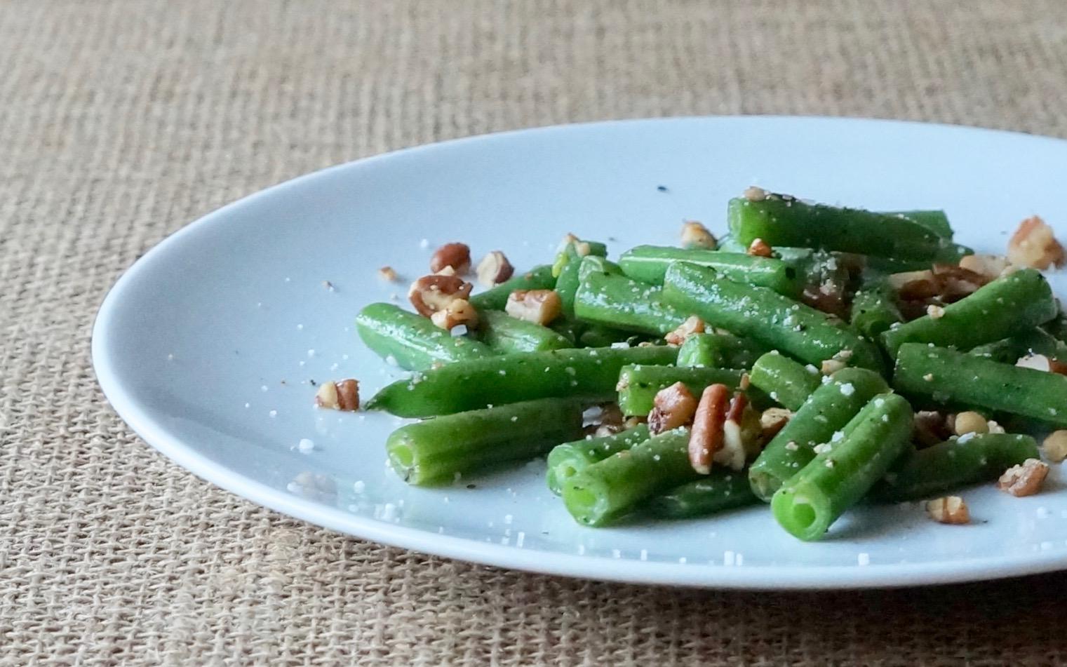 Buttered-Pecan-Green-Beans-Rebecca-Gordon-Publisher-Buttermilk-Lipstick-Culinary-Entertaining-Techniques-Southern-Hostess-RebeccaGordon-Pastry-Chef-Birmingham-Alabama