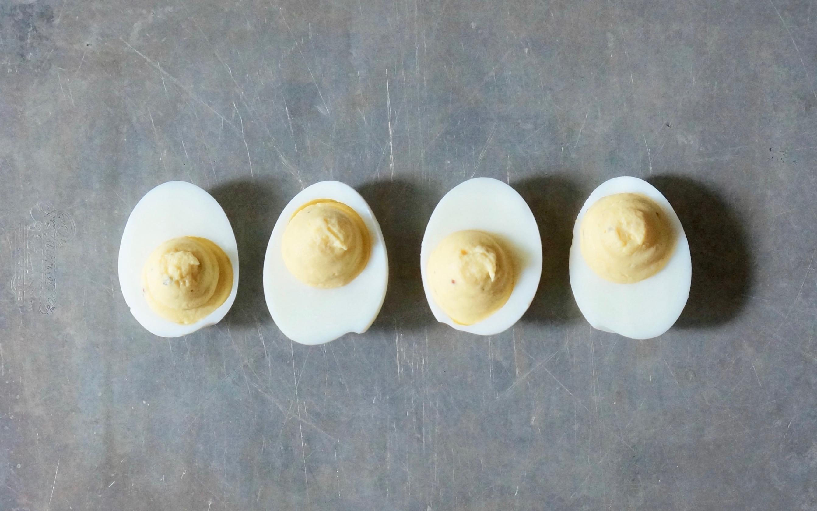 How To Make Deviled Eggs Rebecca Gordon Editor In Chief Buttermilk Lipstick Culinary Entertaining Techniques-RebeccaGordon-Pastry-Chef-Birmingham-Alabama