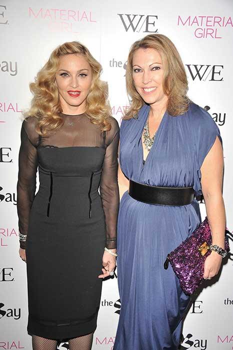 Lisa Tant and Madonna