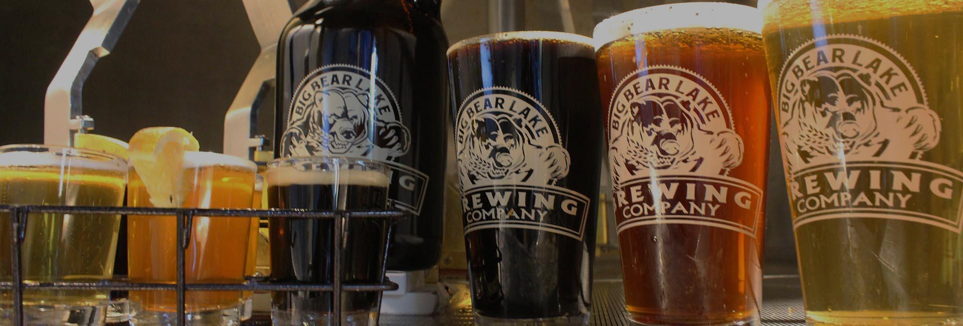 Big Bear Lake Brewing Company - Beer List