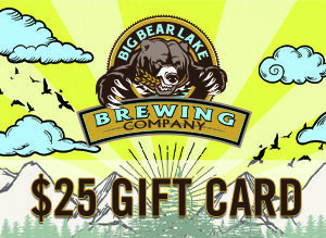 Big Bear Lake Brewing Company - $25 Gift Card