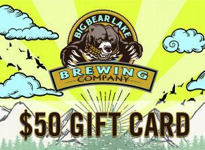 Big Bear Lake Brewing Company - $50 Gift Card