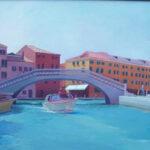 Venice Purple Bridge