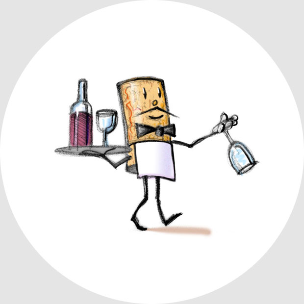 Mascot for Sonoma County Wine Blog