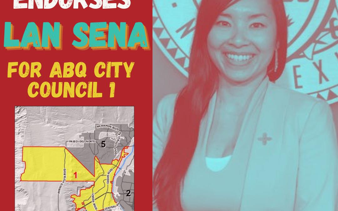 Immigrant Youth Endorse Lan Sena for Albuquerque's  City Council District 1