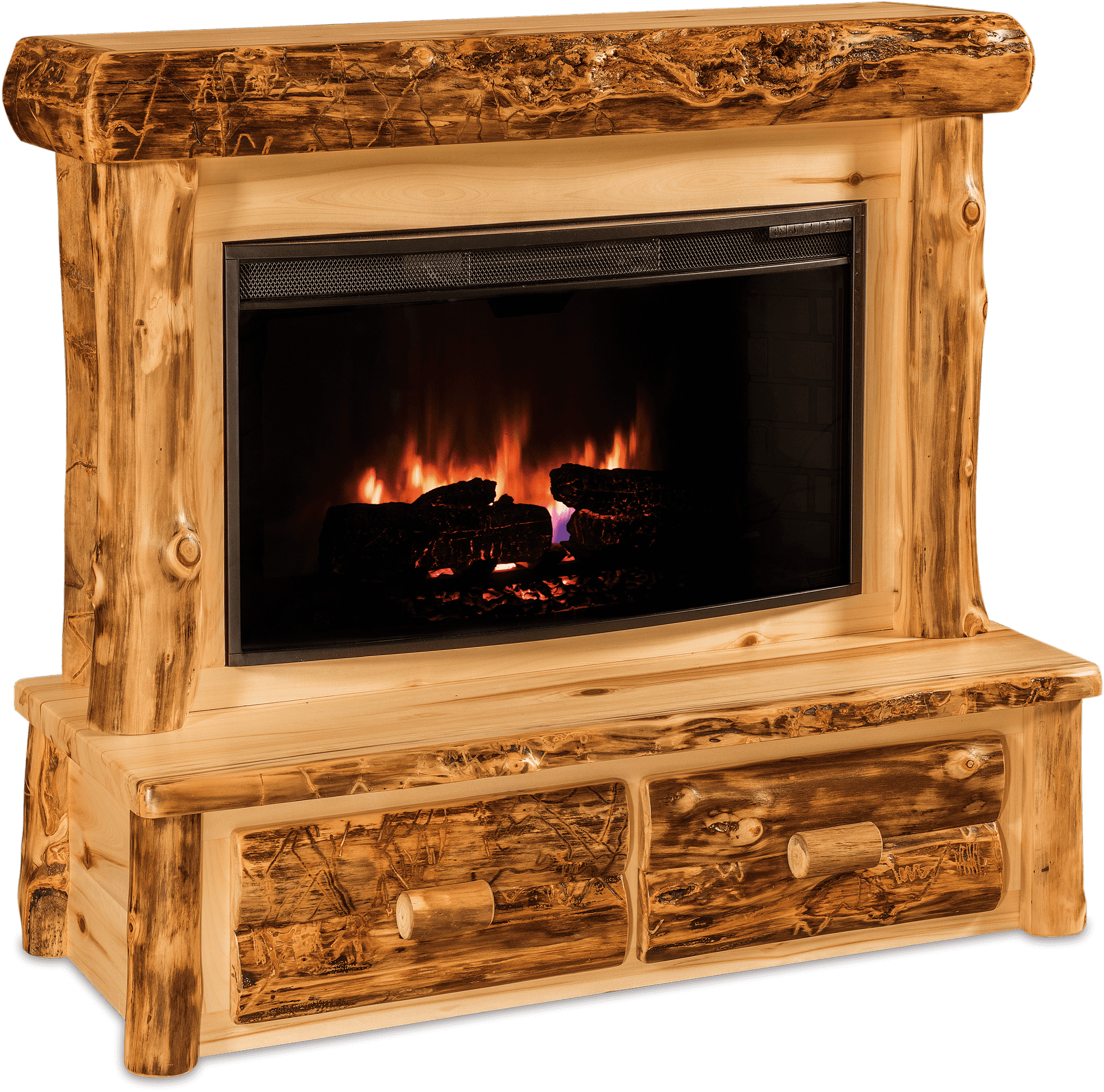 Fireplace Aspen Drws - R.D. Move In/Out Clean