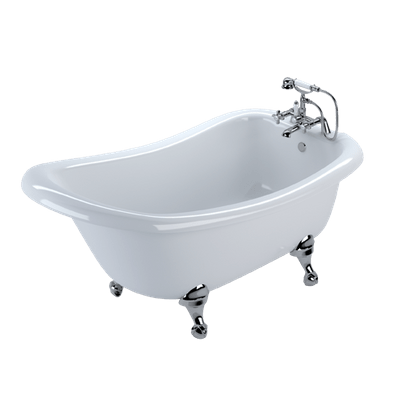 ornate standing bath transparent png 19 - R.D. Deep Clean
