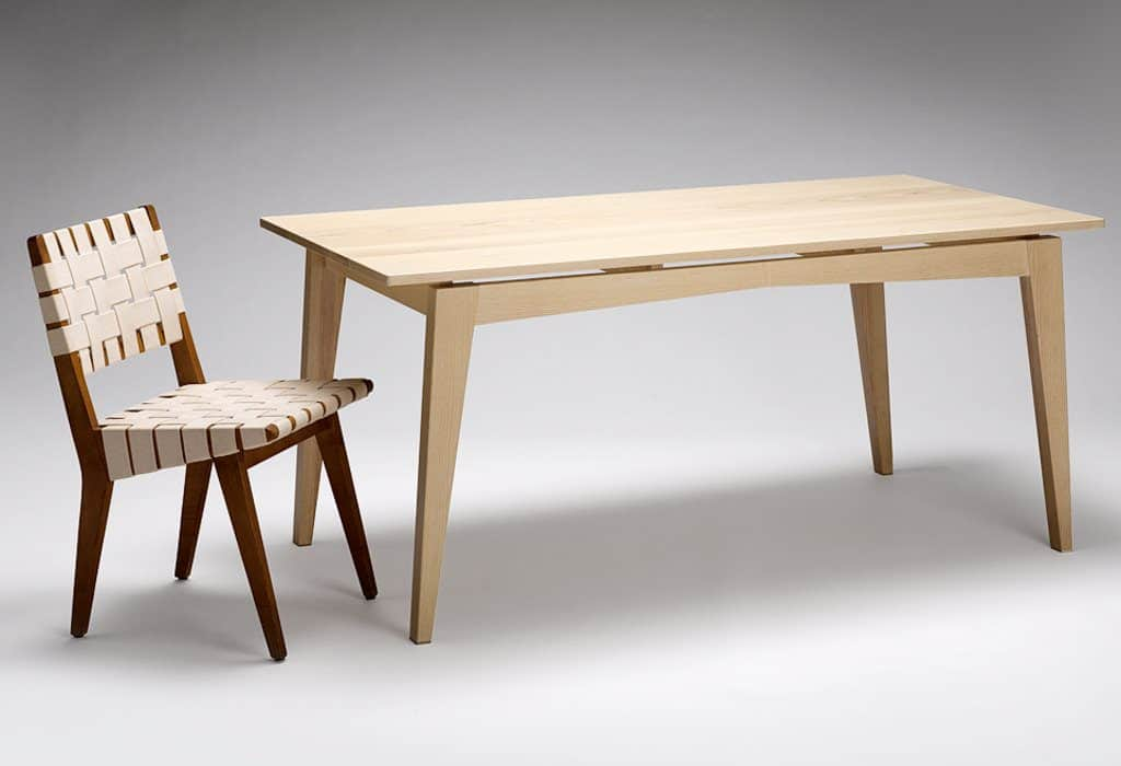 Ash Dining Table and chair