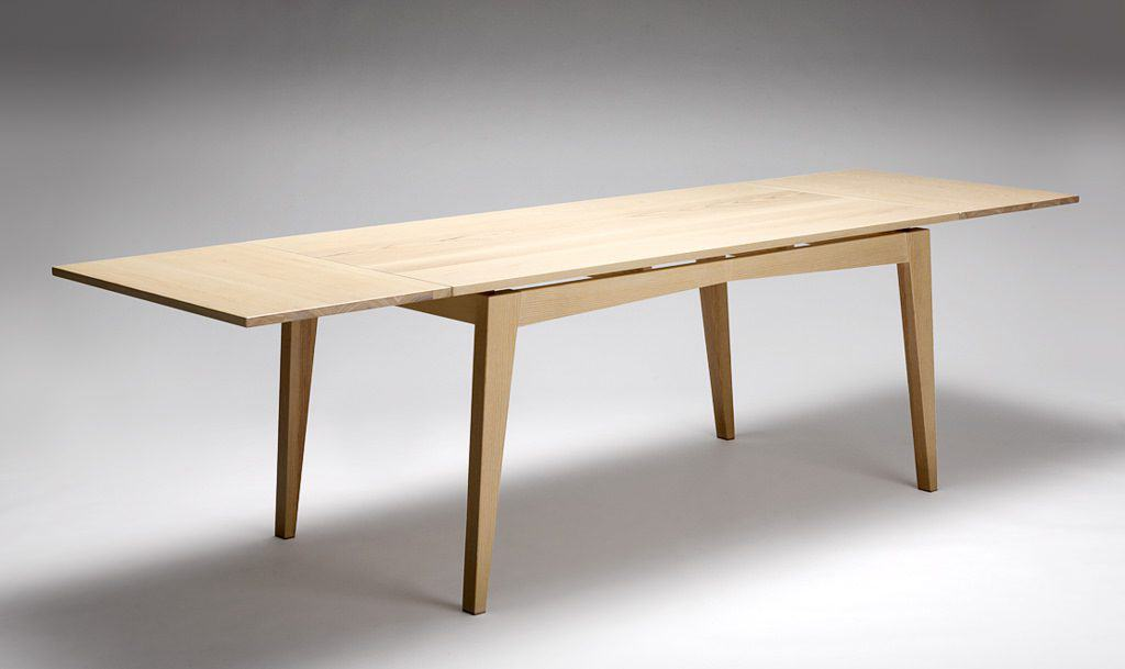 Ash Dining Table with leaves